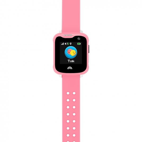 Ceas Inteligent cu GPS pentru copii WONLEX KT05 Roz, rezistent la apa, localizare WiFI si monitorizare spion 2