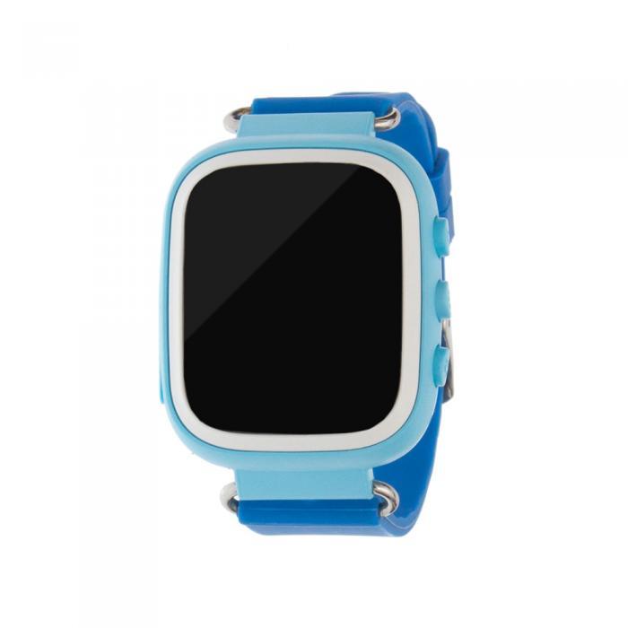 Ceas inteligent pentru copii cu telefon si localizare GPS GW100S ALBASTRU