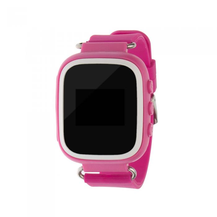 Ceas inteligent pentru copii cu telefon si localizare GPS GW100S ROZ