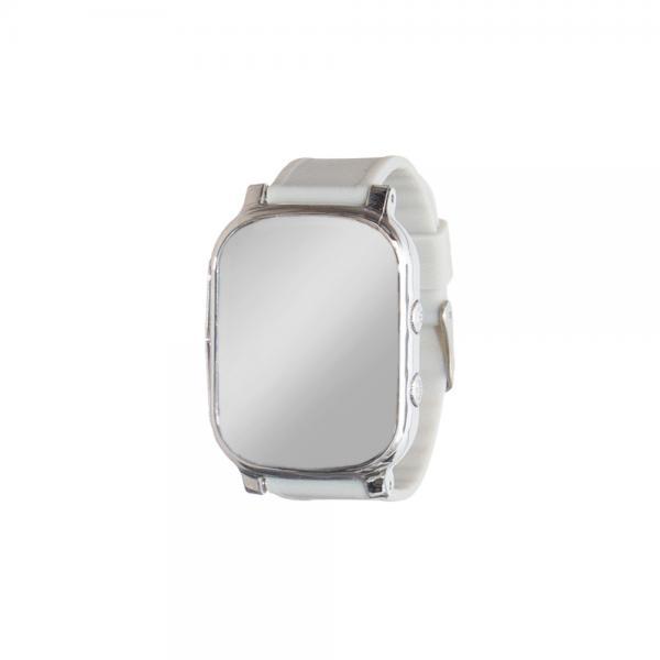 Ceas inteligent pentru copii cu telefon si localizare GPS GW 700 Argintiu