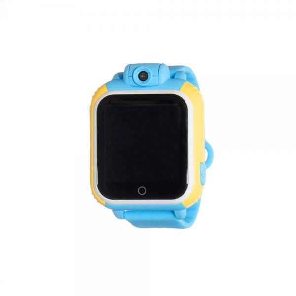 Ceas inteligent pentru copii WONLEX GW1000 3G Albastru (Digi) cu GPS, telefon localizare WiFi si monitorizare spion 0