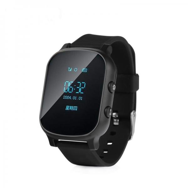 Ceas inteligent pentru copii cu telefon si localizare GPS GW 700 Negru 0