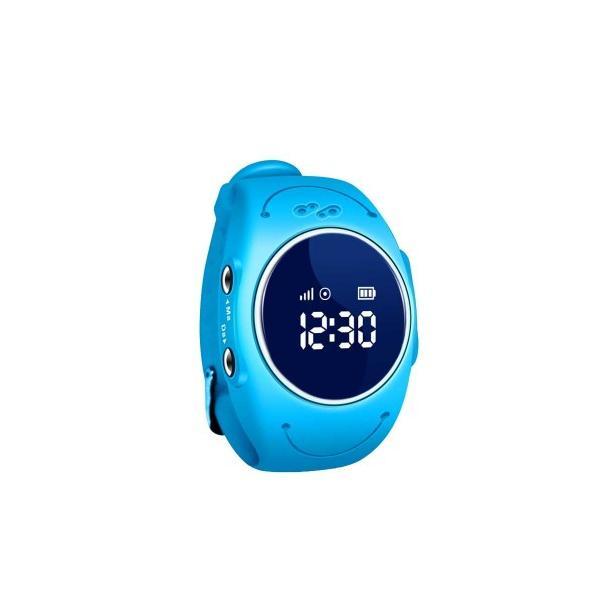 Ceas inteligent pentru copii GW300S Bleu rezistent la apa, cu telefon si localizare GPS & Wi-Fi