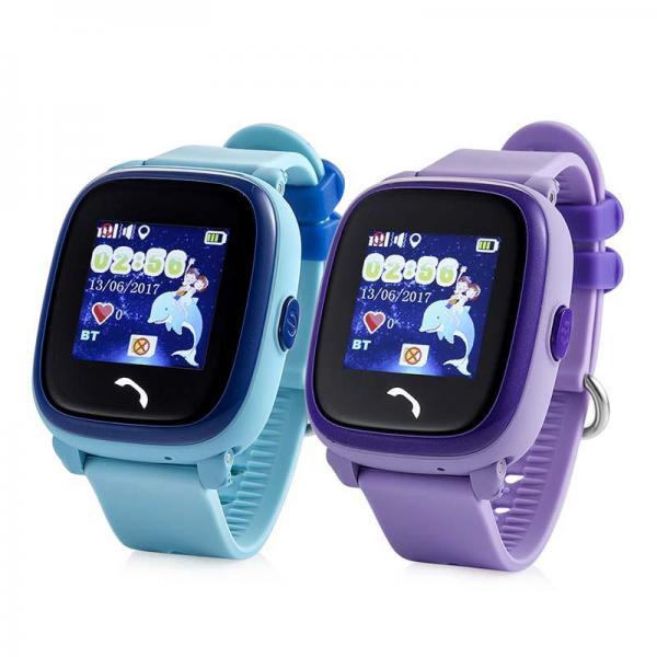 Ceas inteligent pentru copii WONLEX GW400S Albastru cu GPS, rezistent la apa, localizare WiFI si monitorizare spion 3