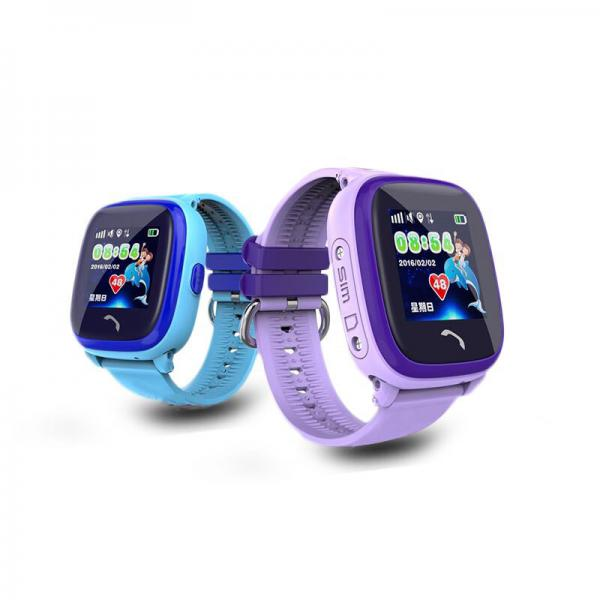 Ceas inteligent pentru copii WONLEX GW400S Albastru cu GPS, rezistent la apa, localizare WiFI si monitorizare spion 4