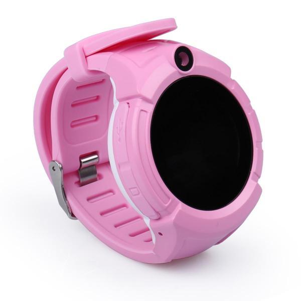 Ceas inteligent pentru copii WONLEX GW600 Roz cu GPS, telefon, localizare WiFi, ecran touchscreen color, monitorizare spion 3