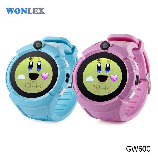 Ceas inteligent pentru copii WONLEX GW600 Roz cu GPS, telefon, localizare WiFi, ecran touchscreen color, monitorizare spion 7