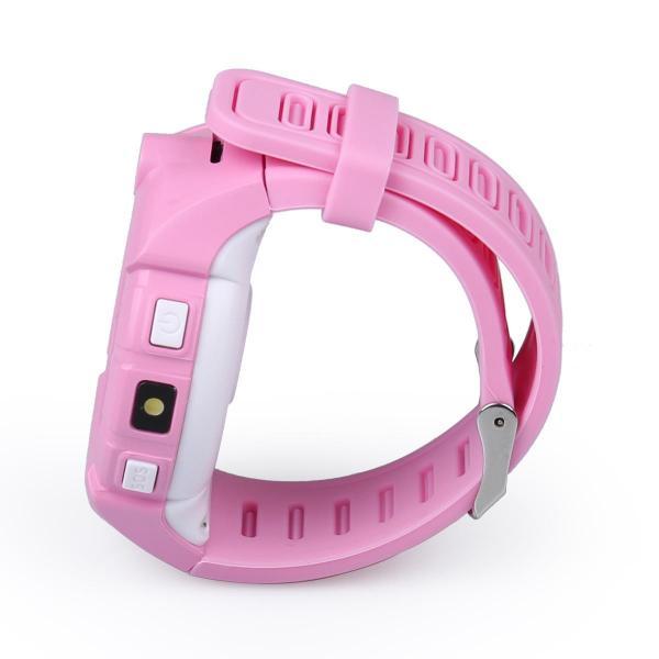 Ceas inteligent pentru copii WONLEX GW600 Roz cu GPS, telefon, localizare WiFi, ecran touchscreen color, monitorizare spion 5