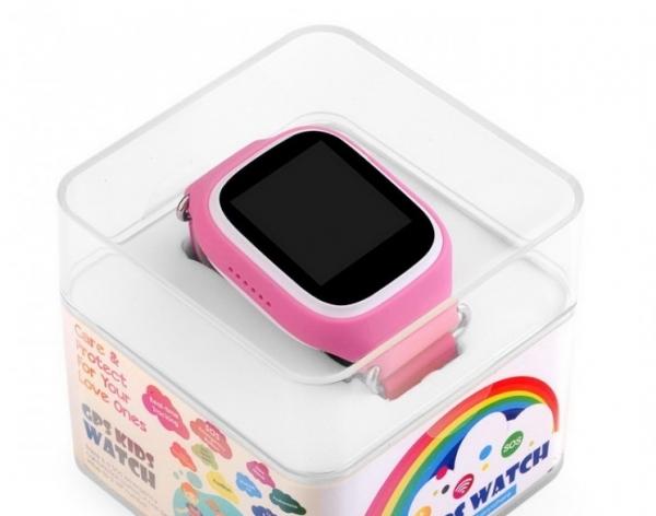 Ceas inteligent pentru copii POPI Roz cu telefon, GPS, WIFI, touchscreen ,monitorizare spion