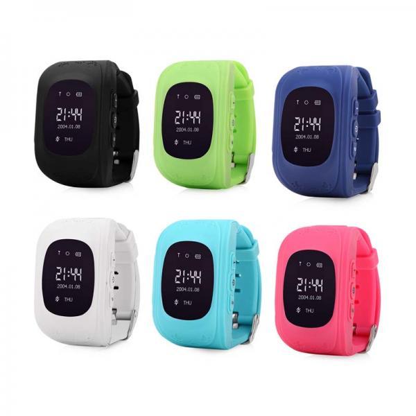 Ceas inteligent pentru copii Q50 Negru cu telefon, localizare GPS si monitorizare spion