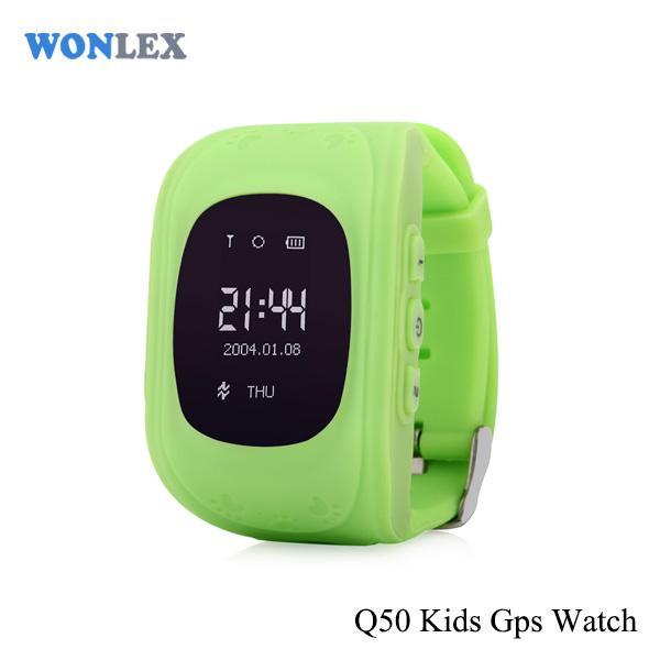 Ceas inteligent pentru copii Q50 Verde cu telefon, localizare GPS si monitorizare spion