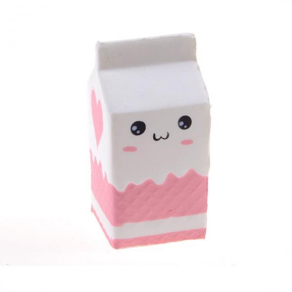 SQUISHY - Milk Box White - Cutie Lapte Alb