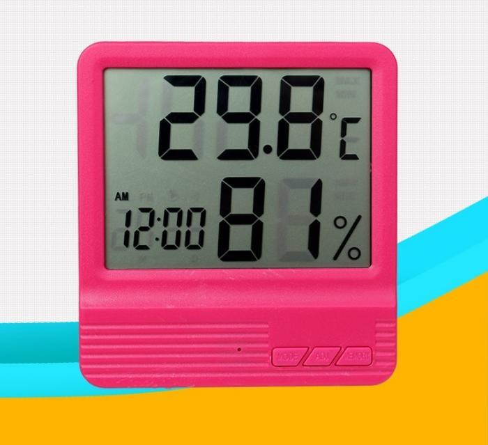 Termometru Camera Copii Roz