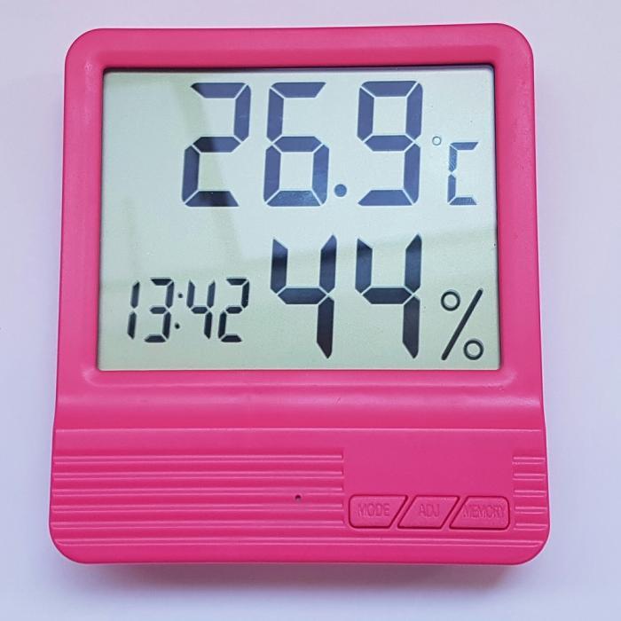 Termometru Camera Copii Roz 5