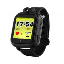 Ceas inteligent pentru copii cu telefon si localizare GPS GW1000 3G Negru (Digi)
